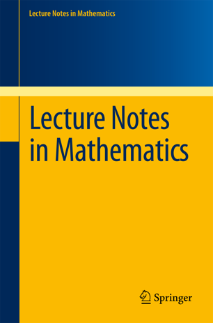 Accès à Lecture Notes in Mathematics